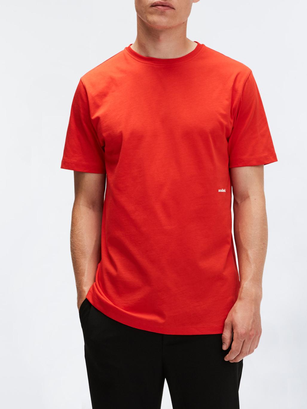 f2f5e8ba0533 Logic Coffey T-Shirt Red - Soulland
