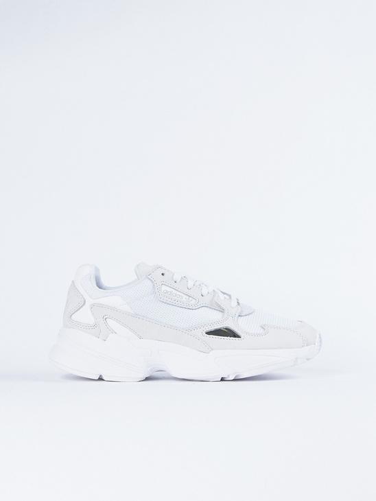 san francisco 7a232 57c79 Adidas Originals Falcon W White ...