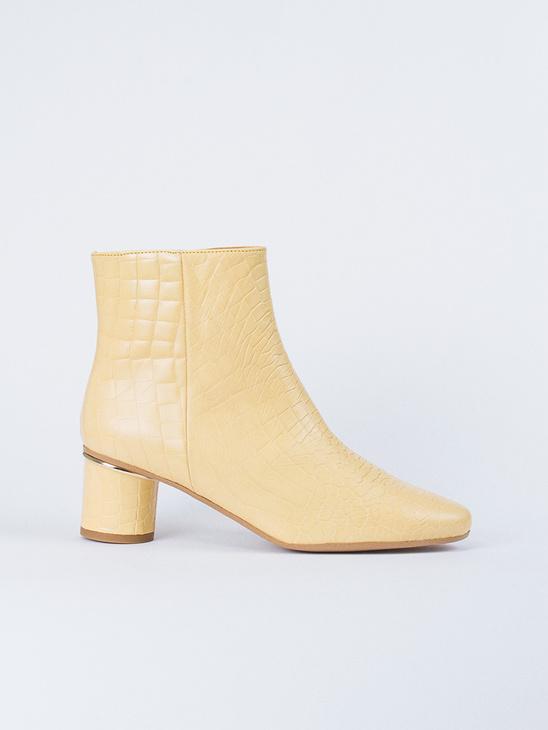 outlet store d5c8c dcb9a Stine Goya Kansas Croco Shoes Golden Haze ...