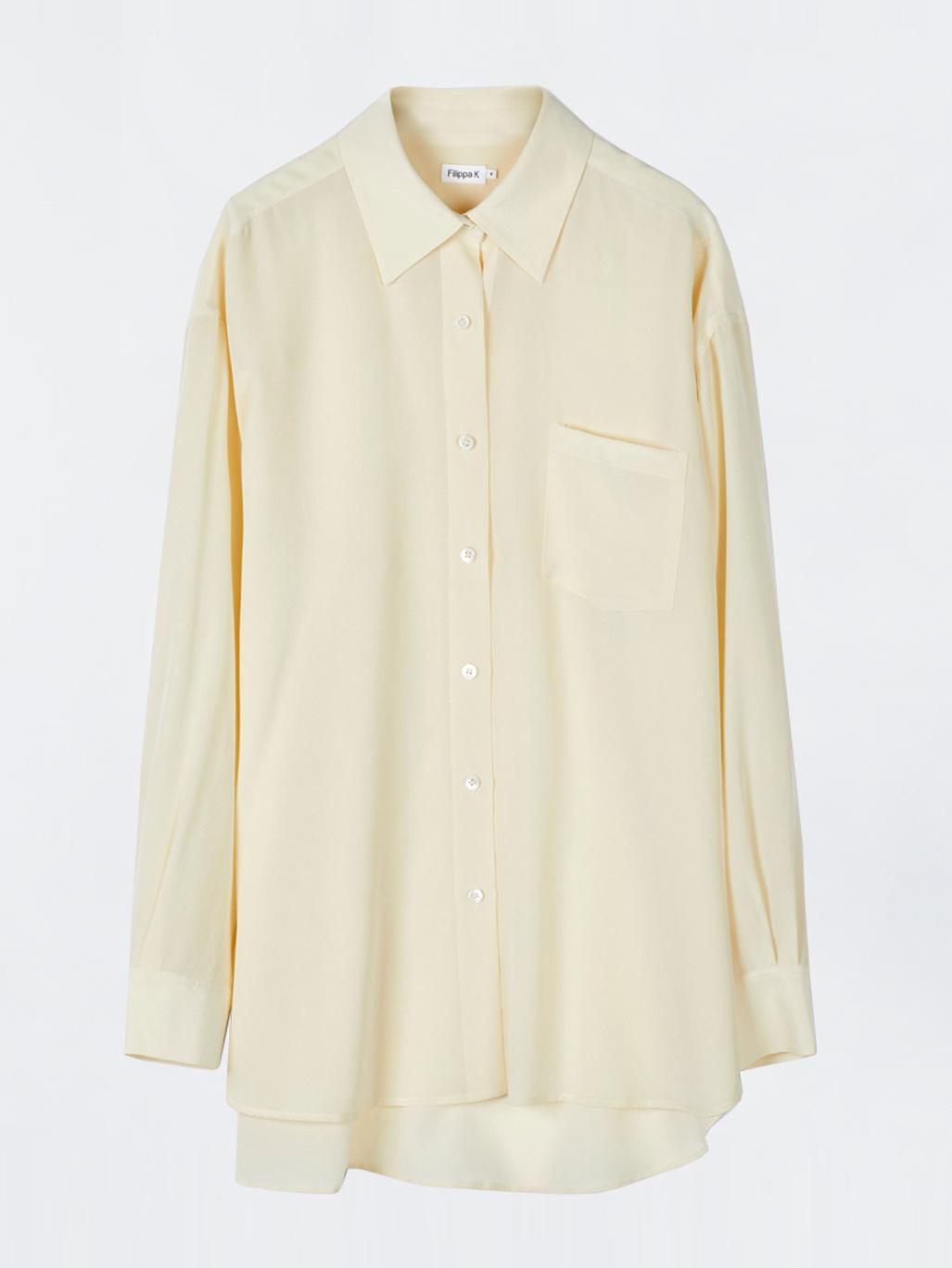 3e86d6186b5f6 Toni Silk Shirt Butter - Filippa K