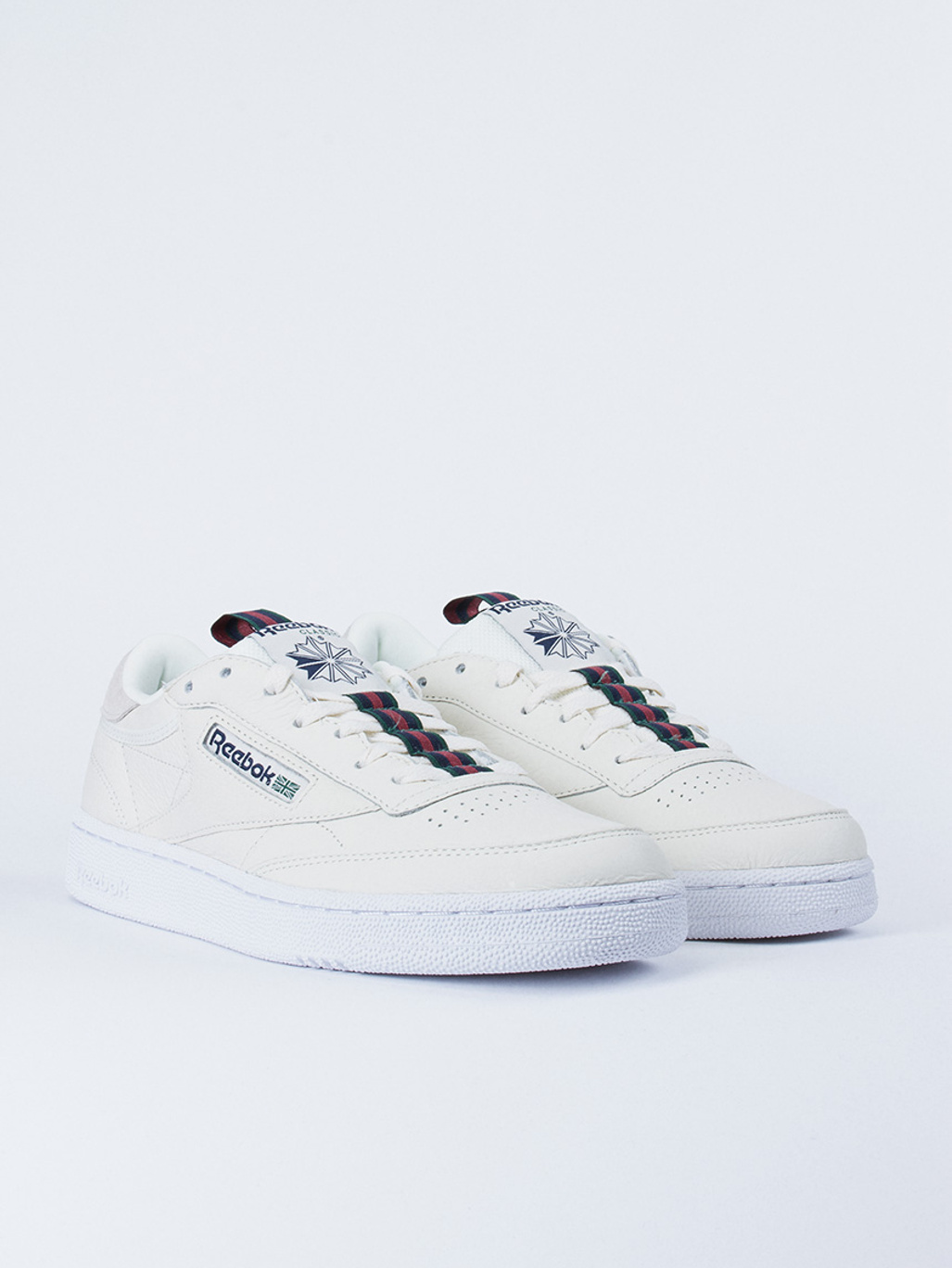 Reebok Club C 85 MU Shoes (chalker paper white cyan)