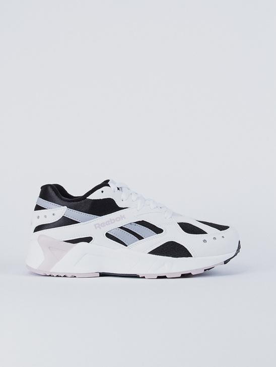 separation shoes d815a 71052 Reebok AZTREK Black White Lilac ...