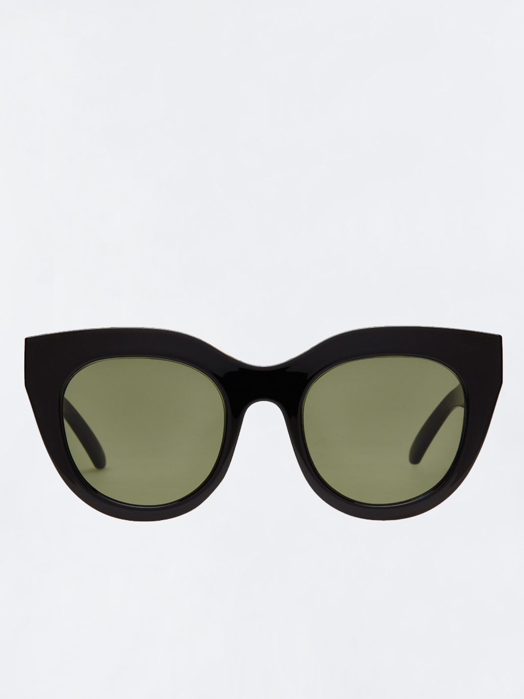 2bda8cbb2d5 Air Heart Black Gold W  Khaki Mono Lens - Le Specs