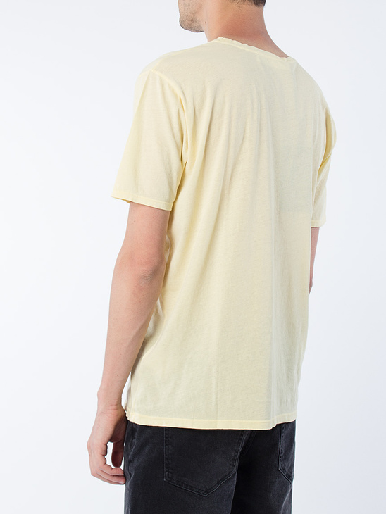 c5530aec579 ADNYM Dou Tee Faded Yellow ADNYM Dou Tee Faded Yellow