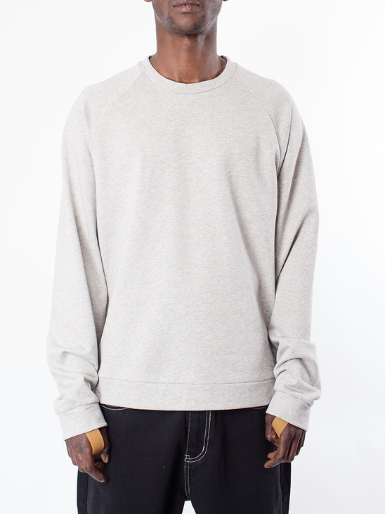 d7769575529 Helmut Lang Raglan Sweatshirt Light Heather ...
