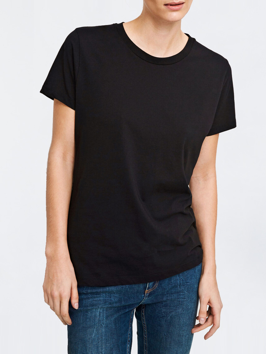 Solly Tee Solid 205 Black