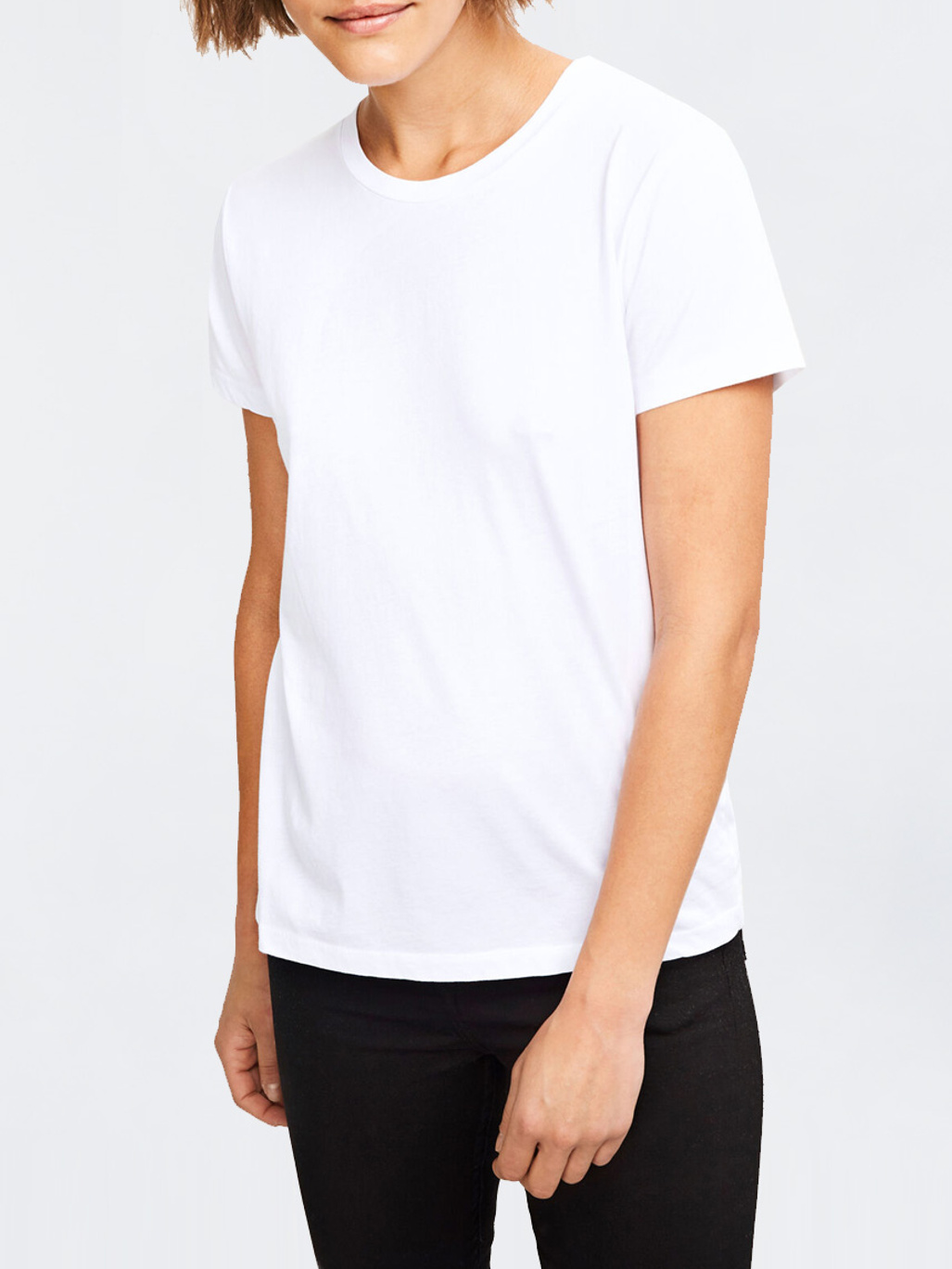 Solly Tee Solid 205 White